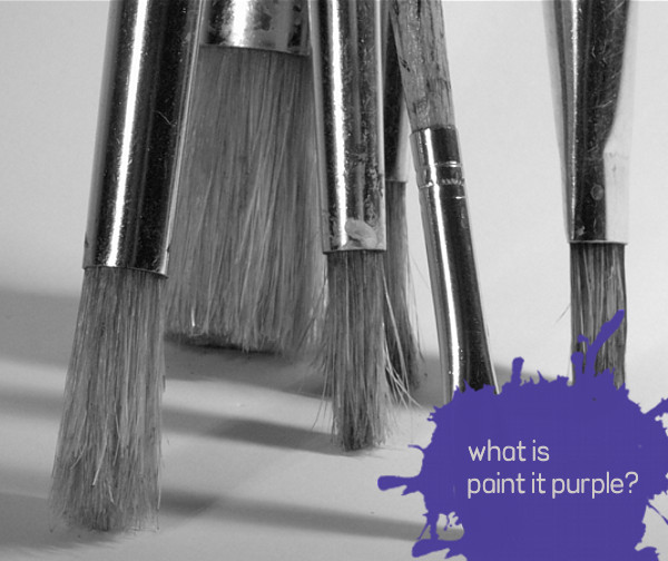 what is paint it purple?
